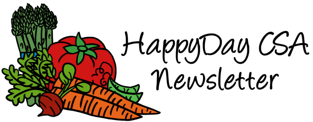 HappyDat CSA Newsletter Header